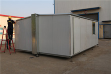 up-to-date technologymodern technology low cost steel frame prefab modular container hous