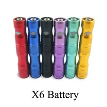2014 best selling ecig x6 electronic cigarette ego x6 battery from original factory x6 starter kit