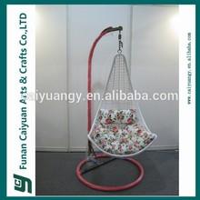 cheap best sell simple design handicraft garden swing chair