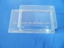 PVC/PET slide blister packaging square blister packing box