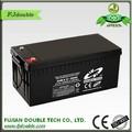 """Nova seco recarregáveis bateria 12v 200ah"""" celular bateria solar db12-200"""