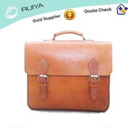 World Best Selling Handcarfted Large Briefcase Real Leather Bag