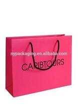 2014 new paper gift bag/custom paper bag/luxury paper bag