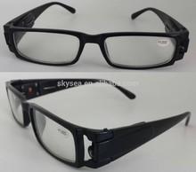 Fashion eyeglasses,led light reading glasses