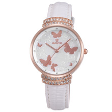 Quality Fashion Butterfly Watches,Vintage Leather Watches