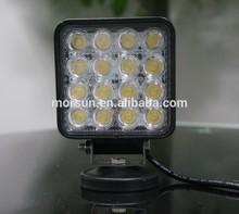 Hot sales 4.5'' 48W LED work light,4x4 spotlight,auto tuning led car light