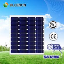Bluesun high quality mono 70w paneles solares fotovoltaicos baratos