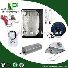 Hydroponic hid optional grow kits/hydroponics indoor grow kits grow tent
