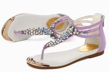 elegant diamond shoes ladies pu sandals woman sandals new design steel toe safety sandals