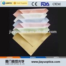 Custom microfiber eyeglass cleaning cloth