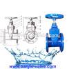 Ductile iron gate valve brass stem gate valve