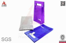 wholesale plastic gift bag shopping with die cuts
