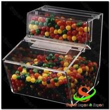 quente distribuidor acrílico doces caixa