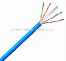 Safelectron high Quality CCAG CU CCA UTP FTP Cat 6 lan cable