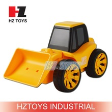 Cheap china children toys 4CH plastic toy truck rc car with music.