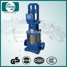 Easy maintenance fire fighting truck water pump