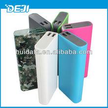 2015 hot sale, 10000mah dual usb portable charger for smart phone DJ519