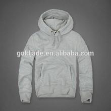 2014 factory direct hot sell plain dyed terry fleece cotton men hoody