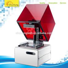 0.02mm high precision sla 3d metal printer machine 3d manufacturer resin supplier 2