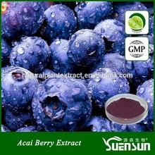 Antioxidant keepling slim natural plant extract powder acai berry