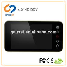 on sales! big&clear 4.0inch HD lcd screen digital door peephole camera, door bell, luxury, saving energy,