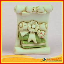 fashion resin ladybird ornament for decoration