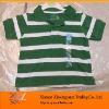 Striped kids wholesale Polo shirts plain