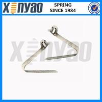 Custom spring steel button clip