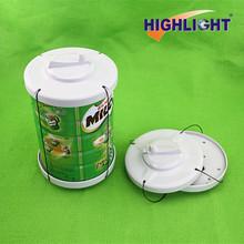 eas milk spider wrap / electronic magnetic sensor safer tag / milk can safer