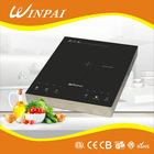 Home appliances shabu shabu induction cooktop portable solar induction cooker black cystral and touch control induction cooker