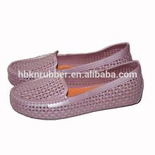 Cheap Ladies Summer No Heel PVC Sandal