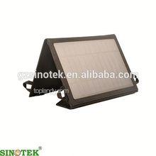 SINOTEK polyester portable foldable smartphone solar charger bag