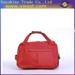 Customize designer travel rolling duffel trolley bag for ladies(TB51)