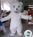 Oso de adultos disfraces/polar bear traje de la mascota para la venta