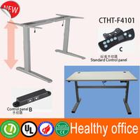 Galway 2 stage height adjustable desk legs & Lower Saxony electric standing desk & healthy adjustable metal frame