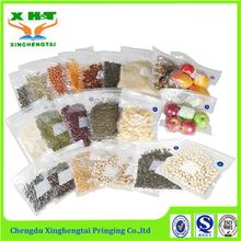 Vacuum sealer Compression Zipper Packaging Bag for Storage Food
