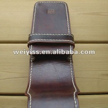 2012 new fashion genuine leather pen case