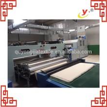150 cm de la máquina para lana de oveja / línea de producción para edredones / edredones de procesamiento de algodón de la máquina de cardado