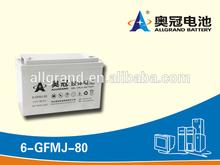 12V80Ah Standby Power GEL Battery/ UPS System/ UPS Battery 12V80Ah