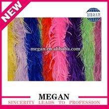 Factory whlolesale decorative fluffy ostrich feather boa
