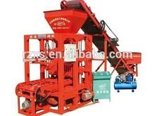 QT4-26 semi-automatic small brick making machine fly ash brick making machine in india price