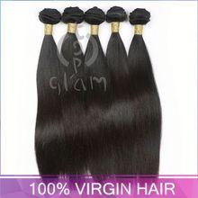 virign human hair , TOPGLAM-6201 brazil hair products