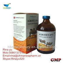 Oxytetracycline base 10% injectable solution for veterinary use only