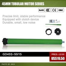 230V/110V AC Tubular Motor 45mm 50Nm For Roller Shutter Awning, Blinds Curtain and Garage door