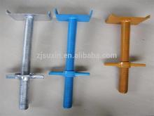 adjustable screw jack for construction scaffolding