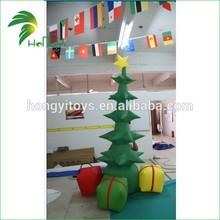 Hongyi New type christmas tree inflatable for display