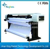 King Rabbit Double Head Inkjet Plotter High speed inkjet plotter HJ-1800/CAD HP45 Garment Inkjet Printer HJ-1800 with updated de