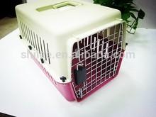 Portable Pet Flight Carrier/Plastic Dog Carrier For Travel