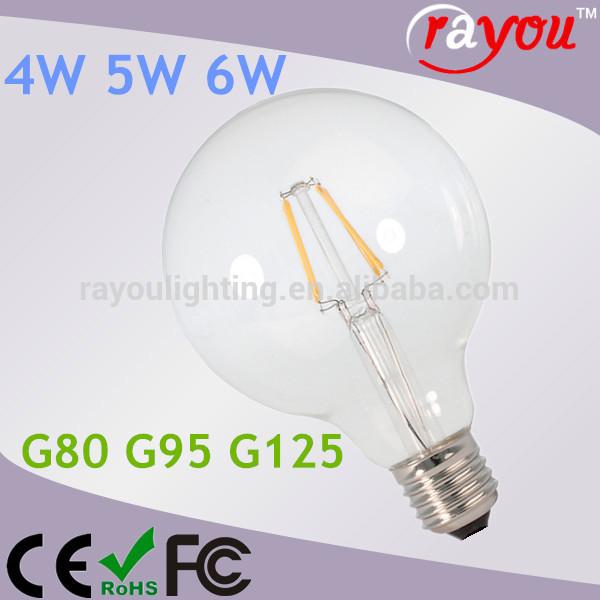 ... lampadina, g125 globo ha portato filamento della lampadina per casa