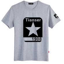 hot sale o-neck man print t-shirt